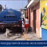 Chiclayo: Reducirán tarifa de agua del mes de enero en Ferreñafe