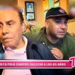 Nacional: Augusto Polo Campos falleció a los 85 años