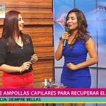 Siempre bellas: Rossy Alvarez enseñó a usar las ampollas capilares para recuperar el cabello