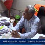 Chiclayo: Anselmo Lozano: Subir las tarifas de agua no es la solución