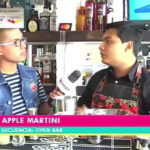 Open Bar: Preparación de un delicioso cóctel apple martini