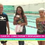 Aprendiendo a nadar: Nuestros amigos de la Academia Berendson  dieron clases de natación