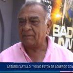 """Chiclayo: Arturo Castillo: """"yo no estoy de acuerdo con el indulto"""""""