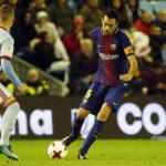 Barcelona empató ante el Celta en octavos de final de la Copa del Rey