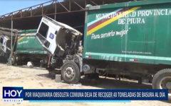 Piura: Por maquinaria obsoleta comuna deja de recoger basura