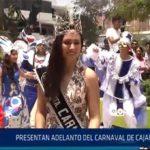 Chiclayo: Presentan adelanto del carnaval de Cajamarca