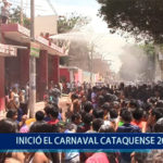 Piura: Inició el Carnaval Cataquense