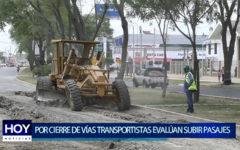 Piura: Por cierre  paralela de vías transportistas  evalúan  subir pasajes