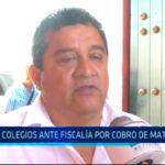 Trujillo: 16 colegios ante fiscalía por cobro de matrículas