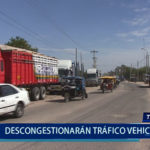 Piura : Descongestionarán tráfico vehicular