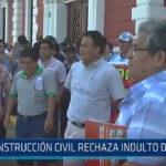 Trujillo: Construcción civil rechaza indulto de Fujimori