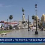 Trujillo: Contraloría y OCI deben acelerar investigaciones