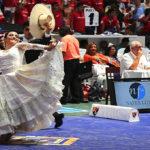 Baile de Coreografía en homenaje a la reyna Fernanda García de Orbegoso