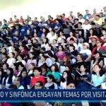 Trujillo: Coro y sinfónica ensayan temas por visita del Papa