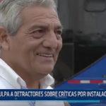 Trujillo: Alcalde de Trujillo culpa a detractores sobre críticas por instalación de baño