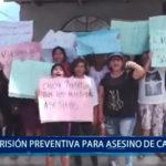 Piura: Prisión preventiva para asesino de vigilante