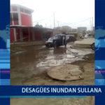 Piura: Desagües inundan Sullana
