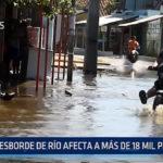 Paraguay:  Desborde de río afecta a más de 18 mil personas