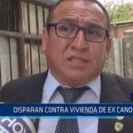 Chimbote: Disparan contra vivienda de ex candidato