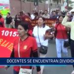 Chiclayo: Docentes se encuentran divididos