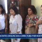 Piura: Docentes denuncian hostigamiento con directora del plantel