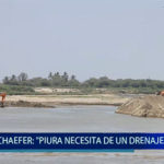 "Piura: Karla Schaefer: ""Piura necesita de un drenaje pluvial"""