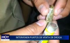 Piura: Intervienen y capturan a microcomercializadores de droga