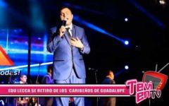 "Nacional: Edu Lecca se retiró de los ""Caribeños De Guadalupe"""