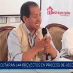 Trujillo: Ejecutaran 544 proyectos en proceso de reconstrucción