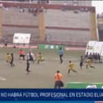 Chiclayo: No habrá futbol profesional en estadio Elías Aguirre