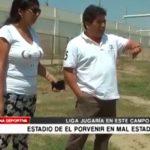 Estadio de El Porvenir en mal estado