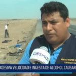 Trujillo: Excesiva velocidad e ingesta de alcohol causaron accidente