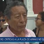 Trujillo: Falero críticas a la Plaza de Armas no son técnicas