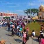Así luce la Plaza Mayor ante la llegada del Papa Francisco
