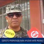 Chiclayo: General del Ejército manifestó estar preparado ante Niña Costera
