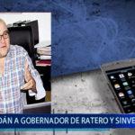Piura: Tildan a Gobernador Regional de ratero y sinvergüenza