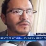 Chimbote: Gerente de hospital asume cargo en medio de pifias