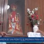 Chimbote: Imagen de San Pedrito se prepara para visitar al Papa