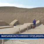 Trujillo: Ingresaron gratis a museos y sitios arqueológicos