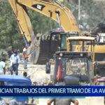 Piura: Inician  trabajos en primer  tramo de la Av.  Cáceres