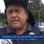 Chimbote: Gerencia de Salud inspecciona piscinas