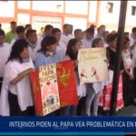 Chiclayo: Internos piden al papa vea problemática de penales