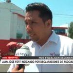 Juan José Fort indignado por declaraciones de asociación