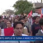 Trujillo: Frente Amplio se suma a marcha contra el indulto