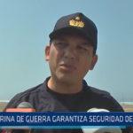 Trujillo: Marina de Guerra garantiza seguridad desde el mar