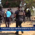 Mexico: 11 muertos deja enfrentamiento en Acapulco