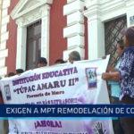 Trujillo: Exigen a MPT remodelación de colegio
