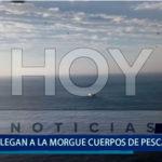 Piura: Llegan a la morgue cadáveres de pescadores