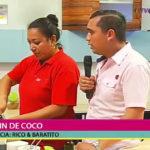 Rico y baratito: Paola Young preparó un delicioso muffin de coco