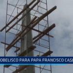 Trujillo: Obelisco para el Papa Francisco casi listo